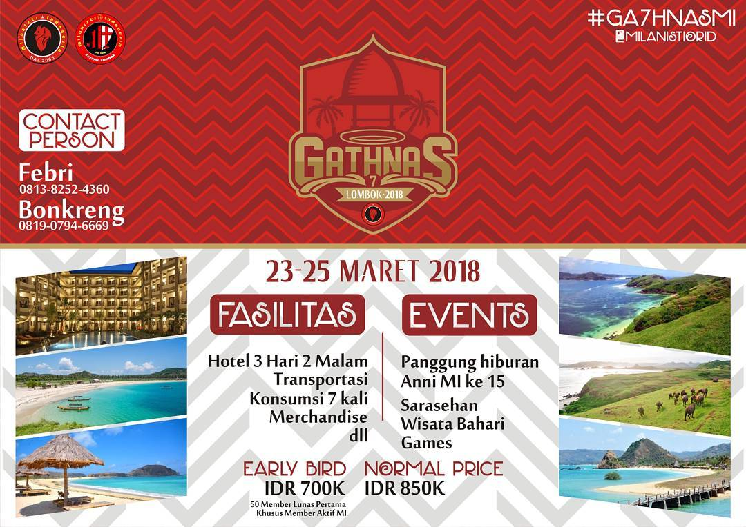 Gathnas Milanisti Indonesia 2018